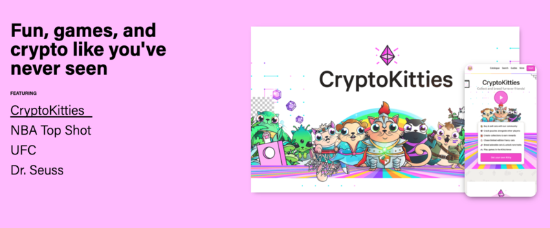 CryptoKitties on Flow