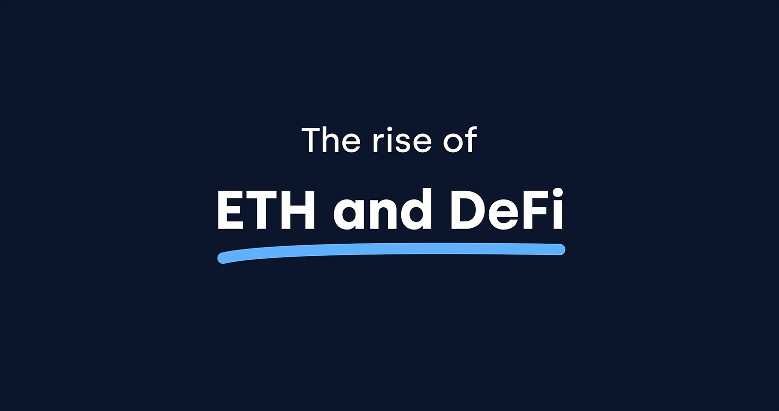 Địa chỉ Ethereum sử dụng DeFi tăng 65% so với Quý trước