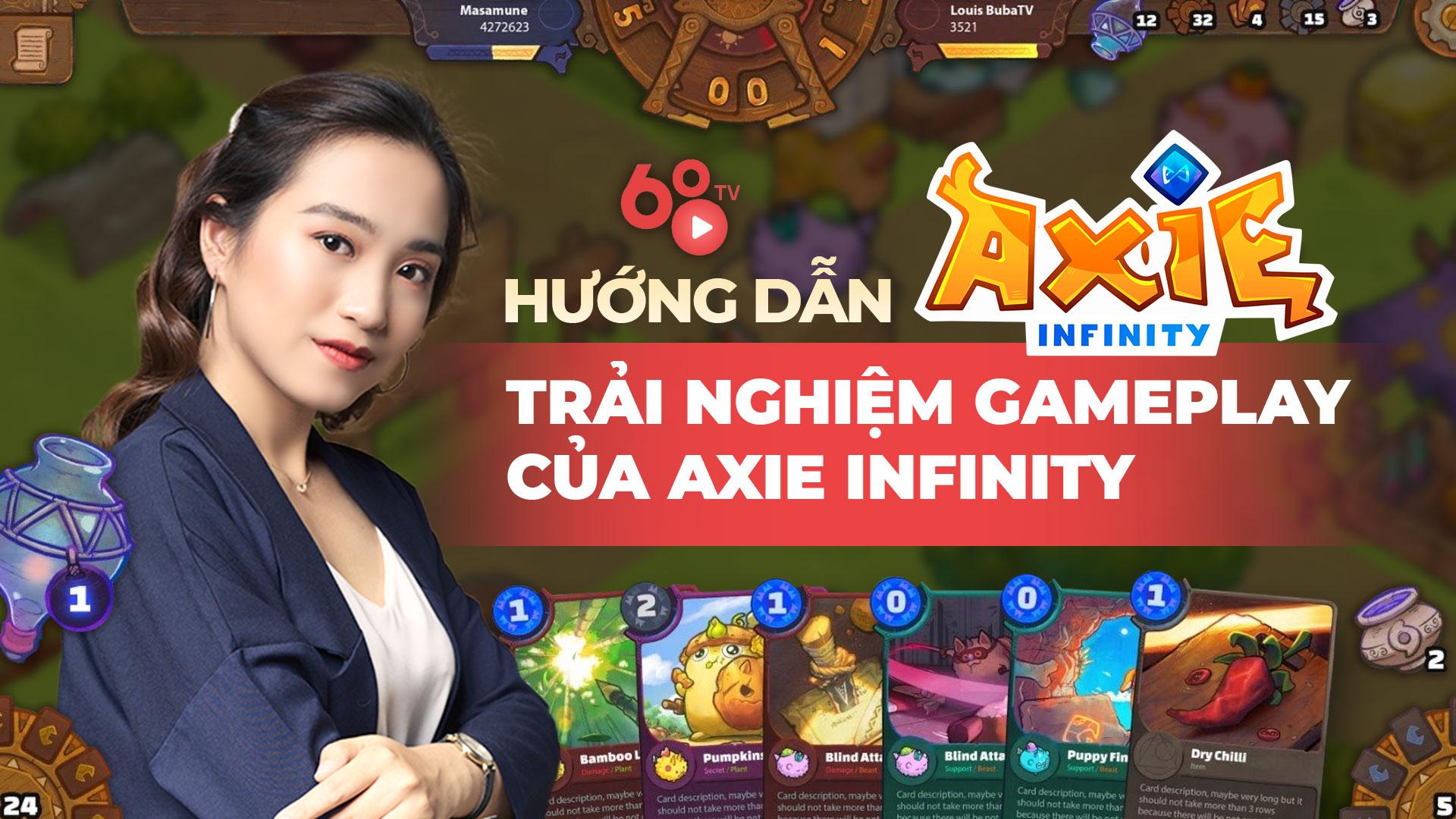 Trải nghiệm gameplay của Axie Infinity – Kinh nghiệm đánh PvP và PvE Axie hiệu quả