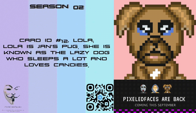 Pixeledfaces Weekly Update — 01