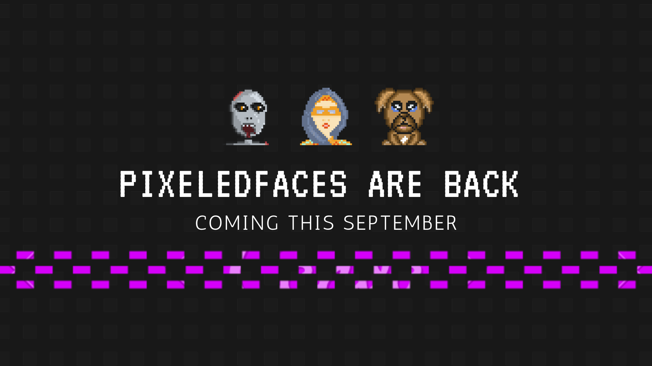 Pixeledfaces Weekly Update 02 – Pack Sale coming on the 25th of September!