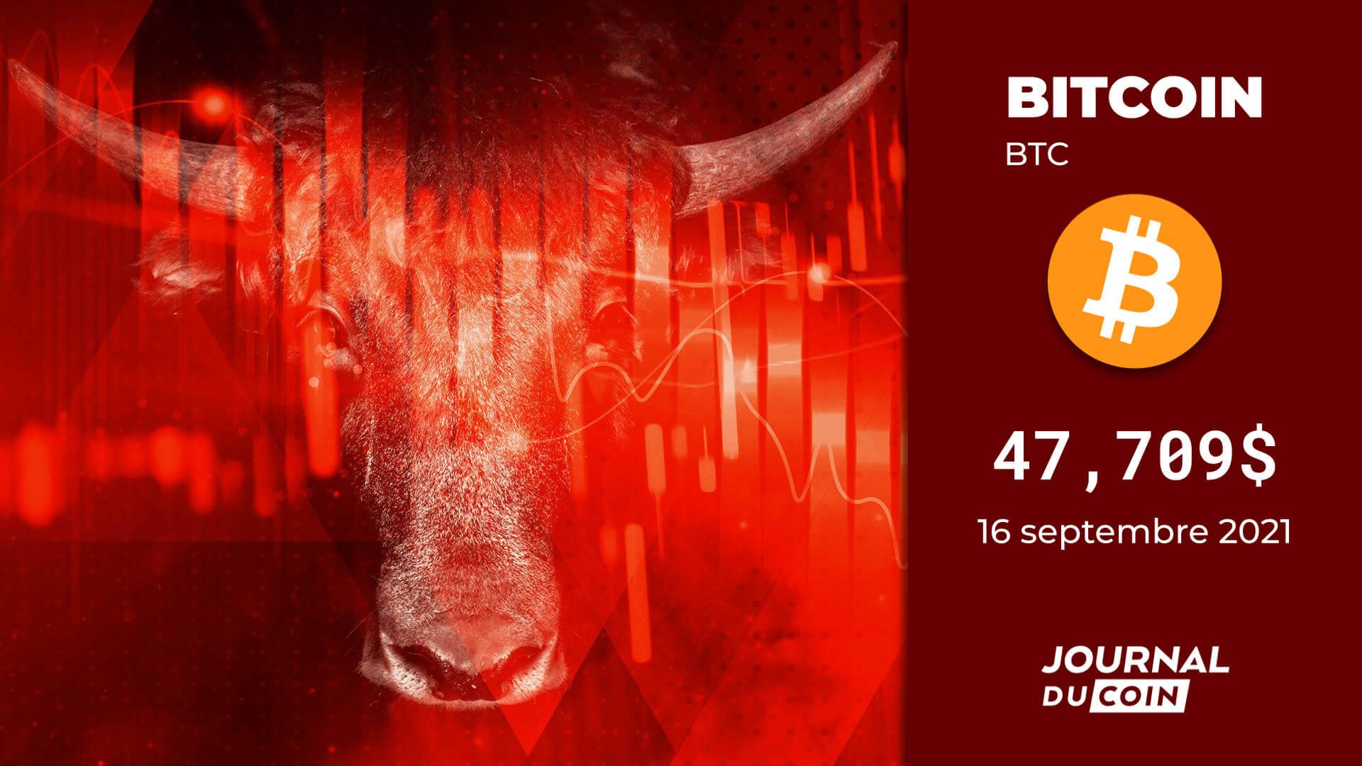 Bitcoin le 16 septembre 2021 – Attaques multiples