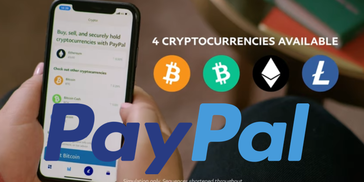 Paypal即刻開放「英國用戶」買賣比特幣、以太、BCH、LTC,門檻僅1英鎊