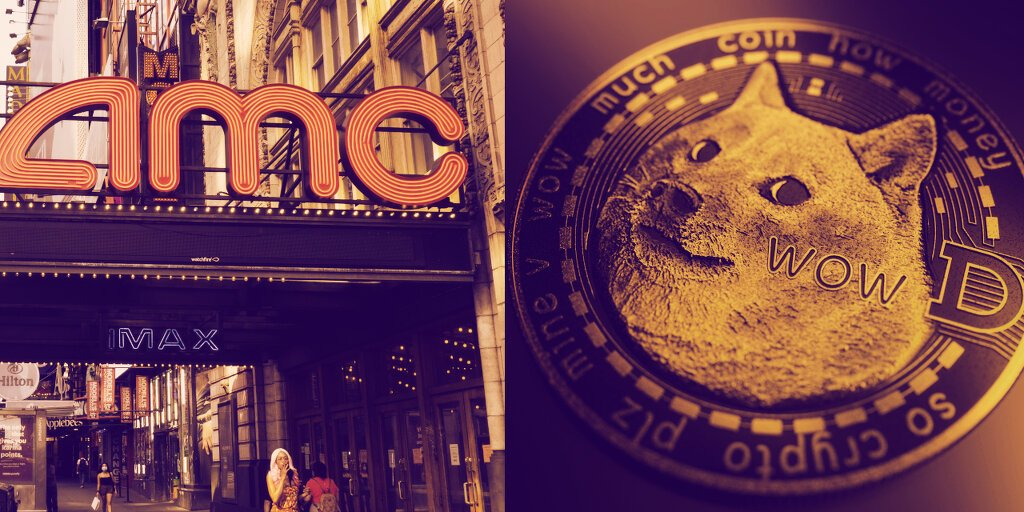 Meme Stock AMC Is Now Accepting Crypto—But Not Dogecoin