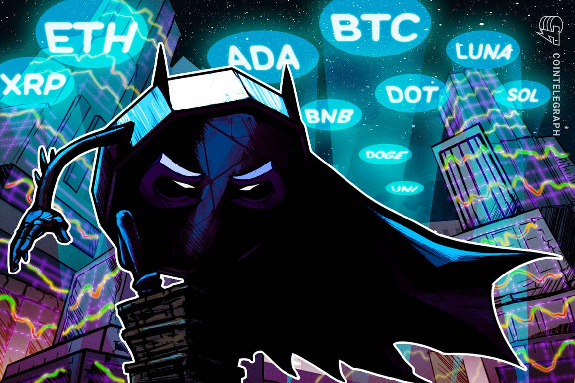 Análise de Preço 17/09: BTC, ETH, ADA, BNB, XRP, SOL, DOT, DOGE, UNI, LUNA