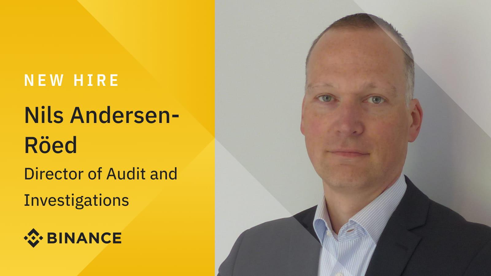 Cựu nhân viên Cục Cảnh sát Châu Âu trở thành Giám đốc Kiểm toán và Điều tra của Binance