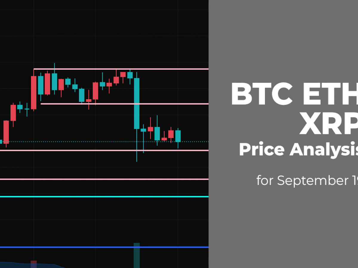 BTC, ETH and XRP Price Analysis for September 19