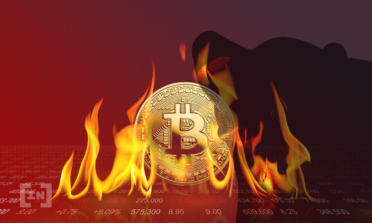 Bitcoin (BTC) cai após perder importante nível de suporte