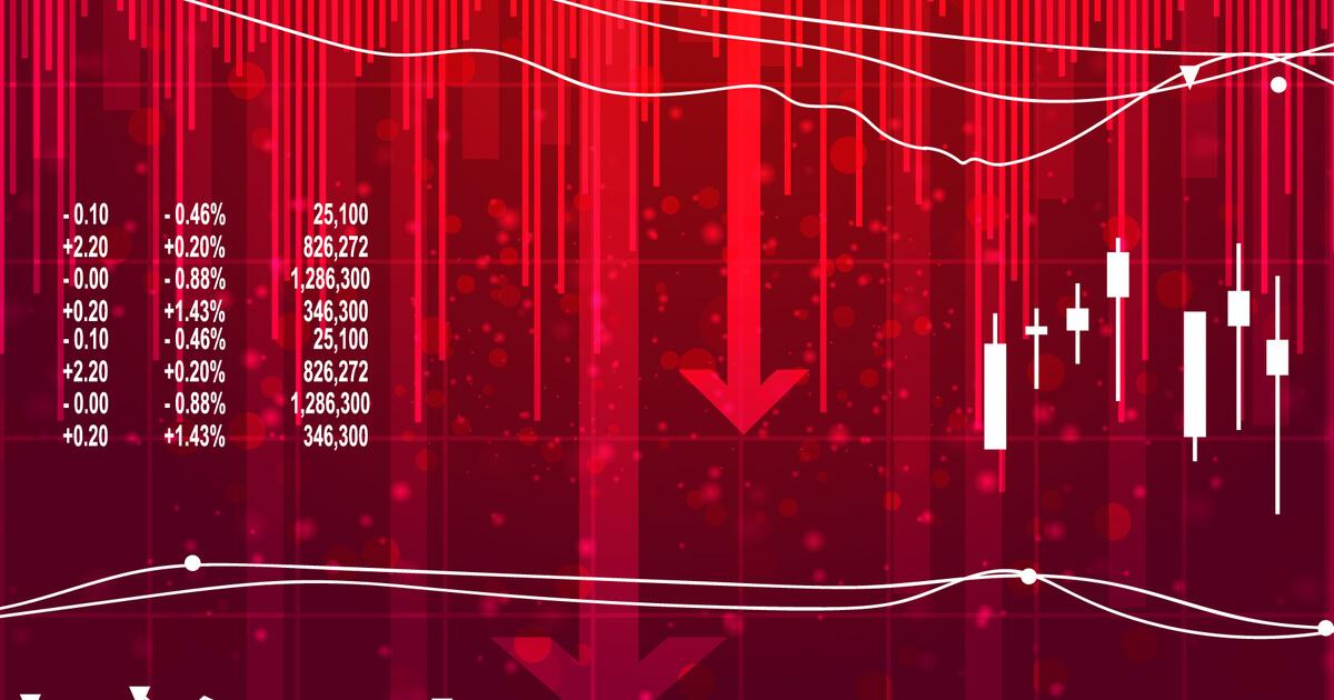 中国恒大集団のデフォルト懸念で仮想通貨も全面安、ロスカットは1800億円相当に