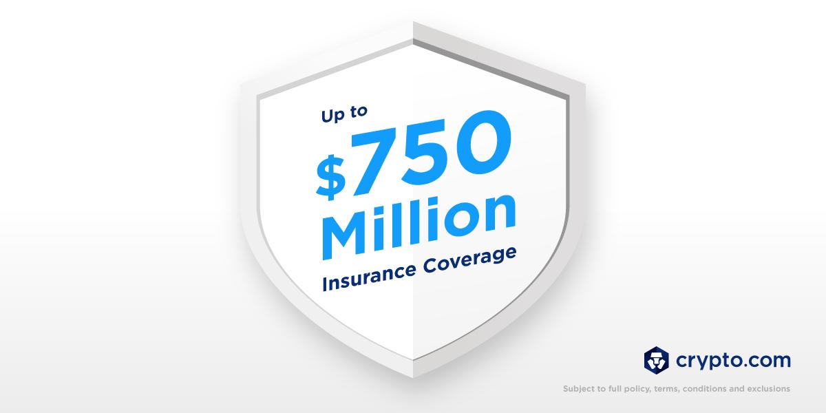 Crypto.com mở rộng chương trình bảo hiểm để bảo trợ cho khối tài sản 750 triệu USD của người dùng