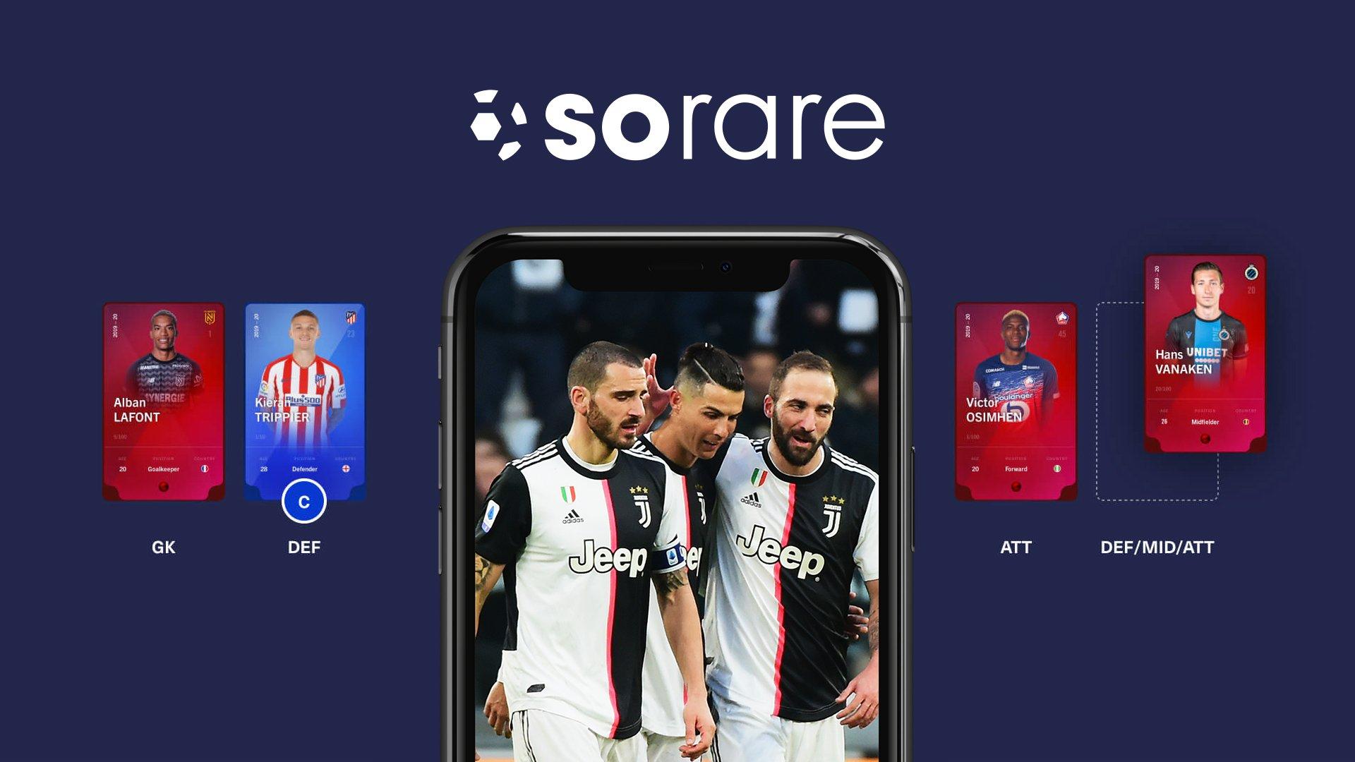SoftBank dẫn đầu vòng gọi vốn 680 triệu USD của nền tảng NFT bóng đá Sorare