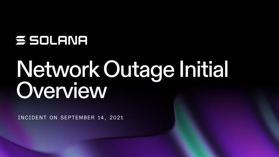 Solana基金會報告 : 是爆量交易「DoS攻擊」,造成17小時區塊鏈停機