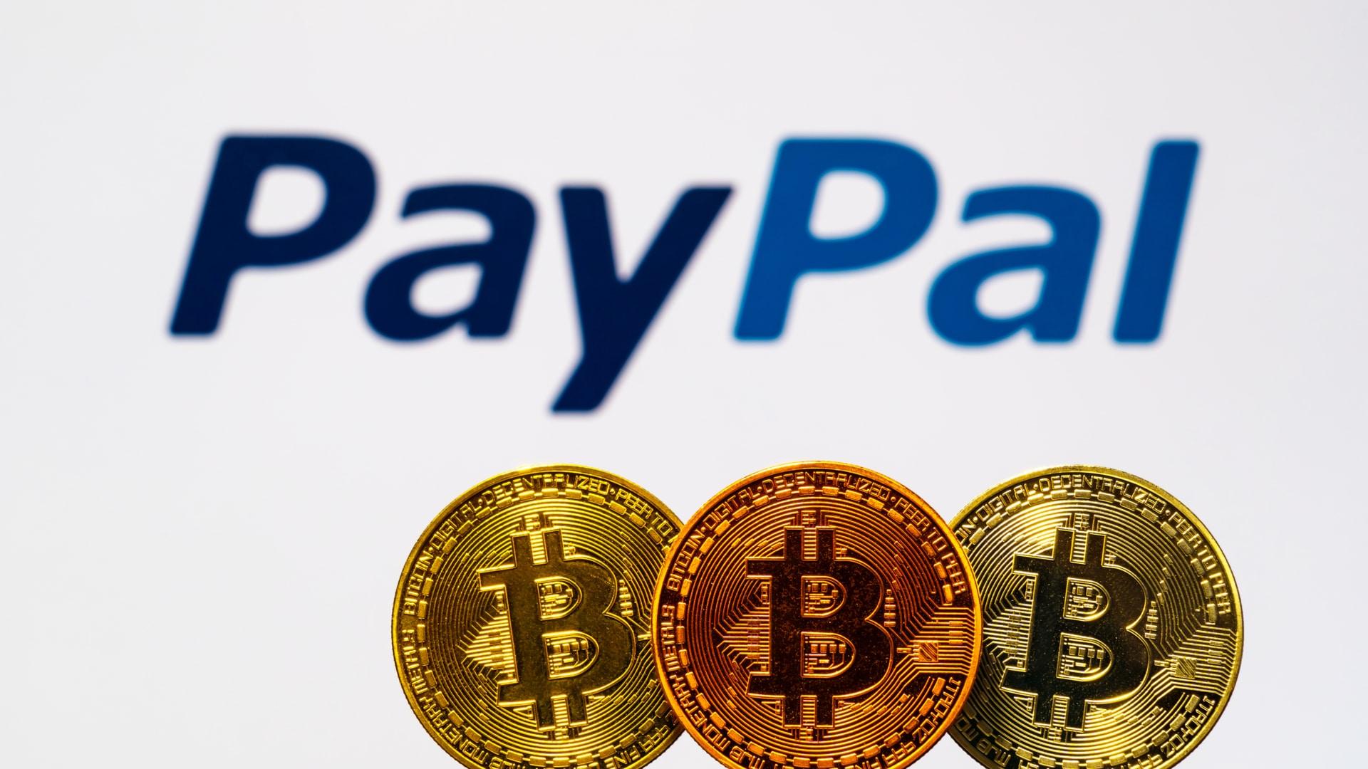 PayPal anuncia novo aplicativo para criptomoedas