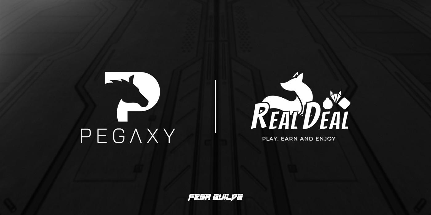 Pegaxy hợp tác với Real Deal Guild