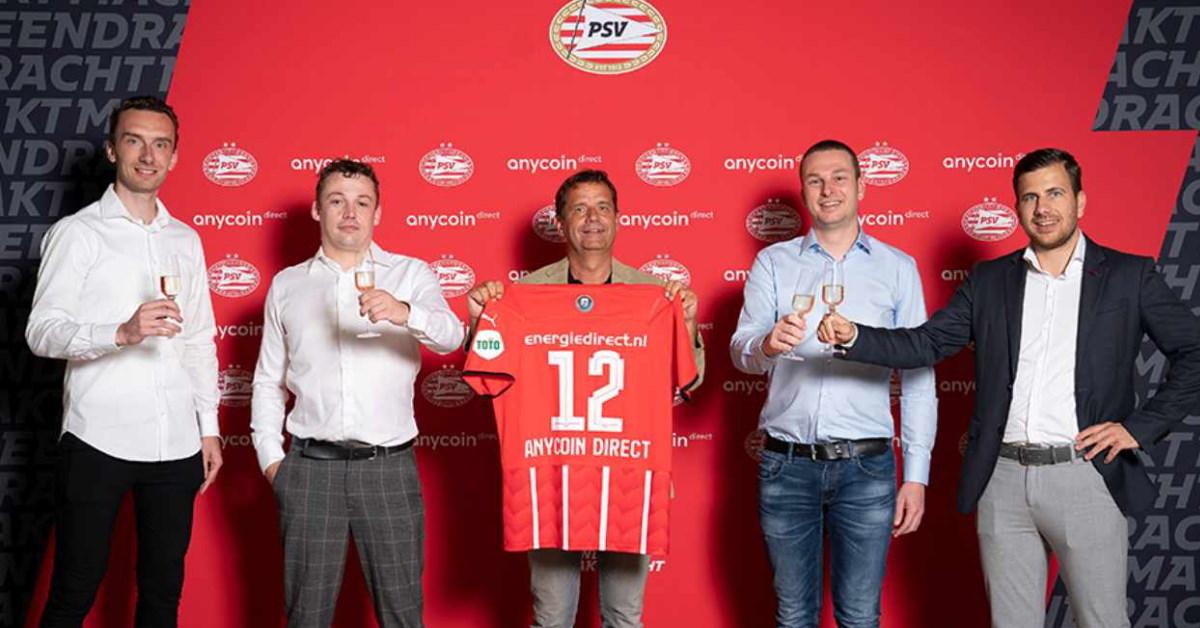 Football : le club néérlandais du PSV Eindhoven détient du Bitcoin dans sa trésorerie