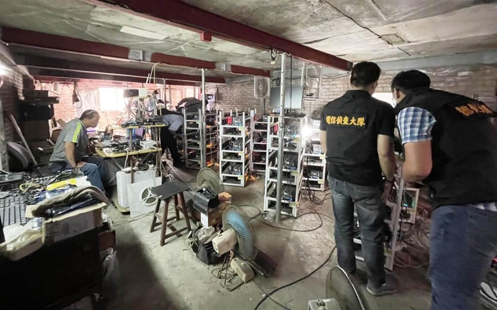 偷電6,400萬元!刑事局破獲「竊電挖礦」集團,扣礦機1824部、祭10萬檢舉獎金