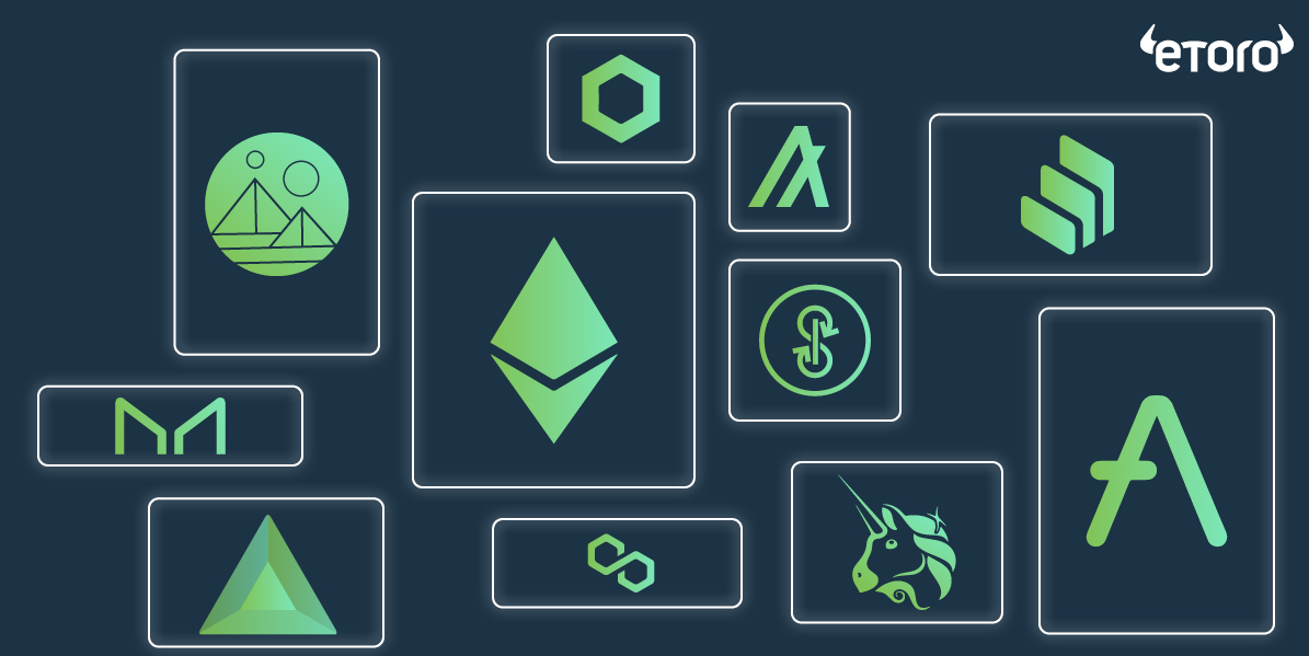 eToro ra mắt sản phẩm đầu tư dành cho các token DeFi hàng đầu thị trường