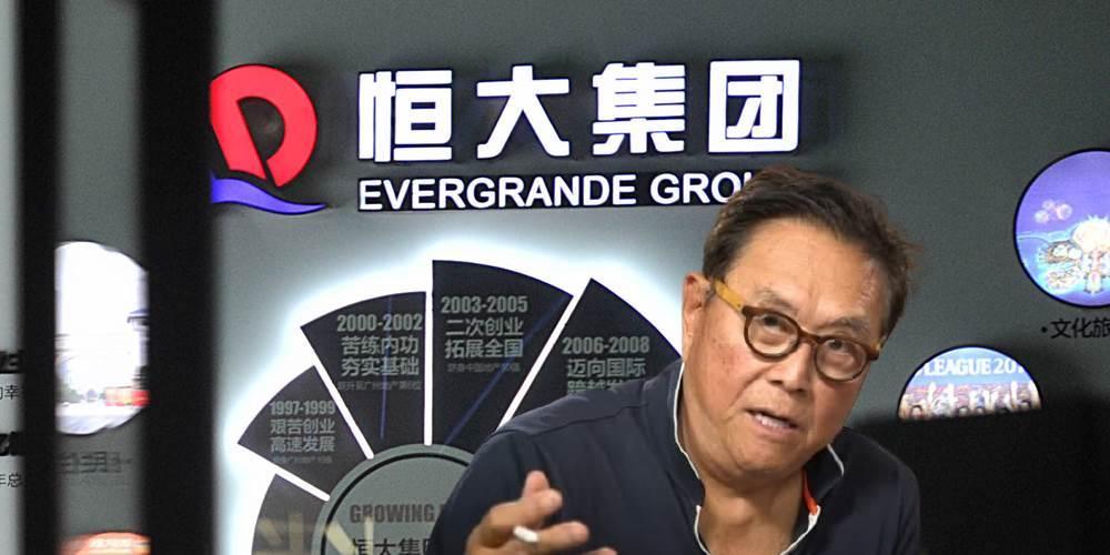 富爸爸作者 : 恆大是正在崩壞的紙牌屋!8千萬美元利息未繳,北京下令「倒閉備戰」
