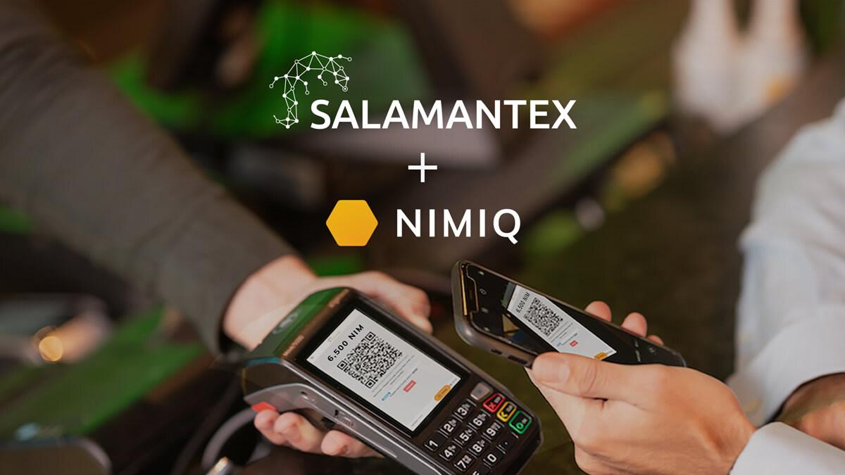 Criptomoneda Nimiq (NIM) ahora disponible para pagos en todos los dispositivos habilitados por SALAMANTEX