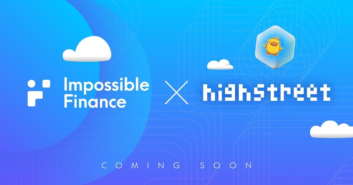 Impossible Finance IDO ครั้งที่ 4 — Highstreet Token Sale