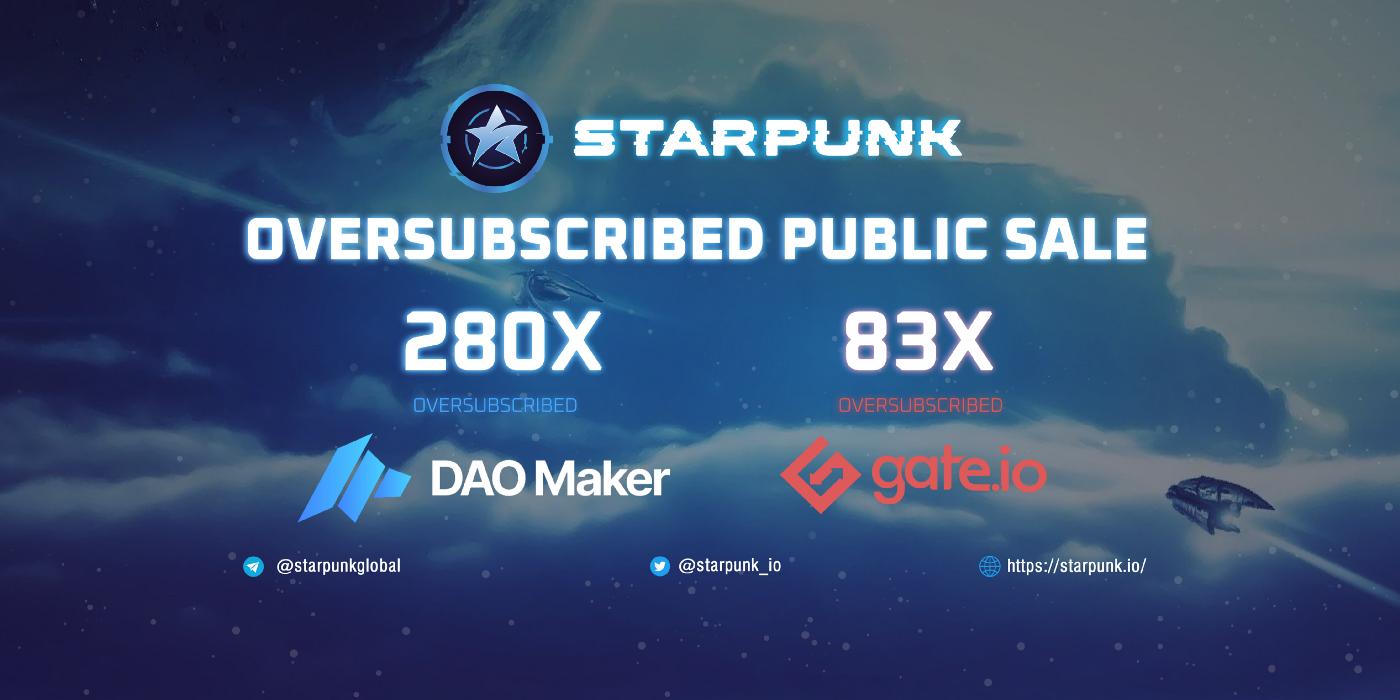 Kết thúc vòng public sale của StarPunk
