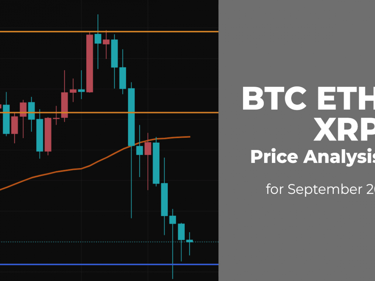 BTC, ETH and XRP Price Analysis for September 26
