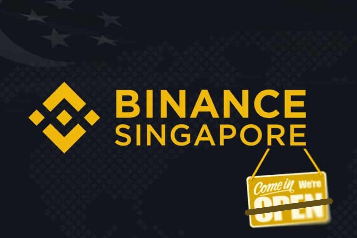 Binance เริ่มบล็อคไม่ให้ประชาชนสิงคโปร์ฝากเงินเข้าเว็บแล้ว
