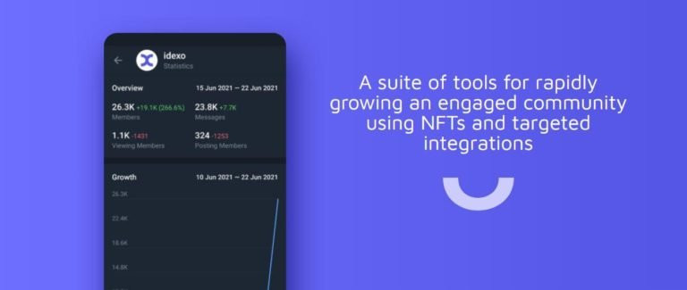 idexo Launches Community Development Kit to Help Brands Mint NFTs on Twitter and Telegram