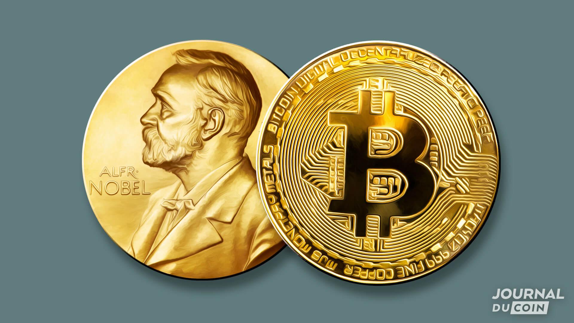 """Bitcoin """"Prix Nobel de l'investissement"""" selon la référence The Economist"""