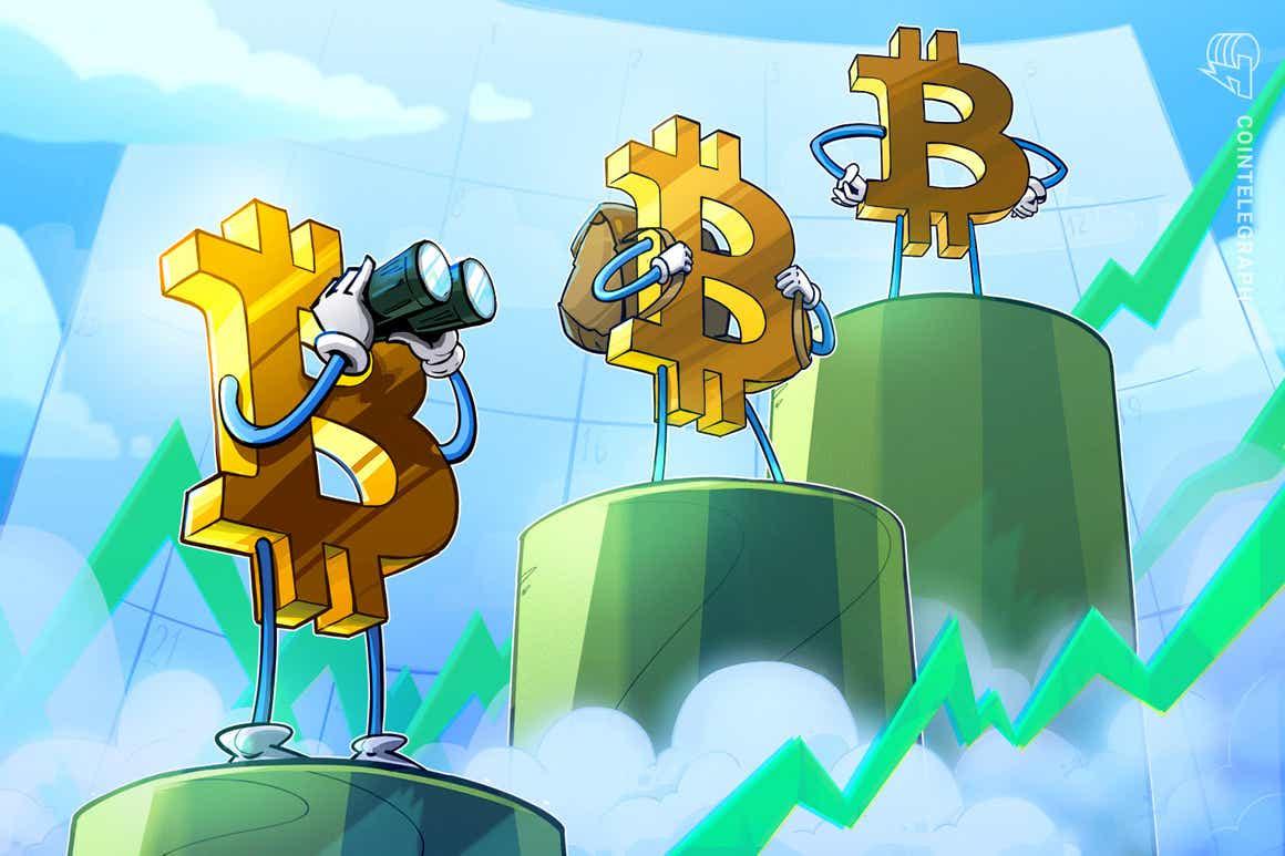 Preço do BTC atinge a máxima semanal fechando acima de US$ 60 mil antes da turbulência do ETF Bitcoin