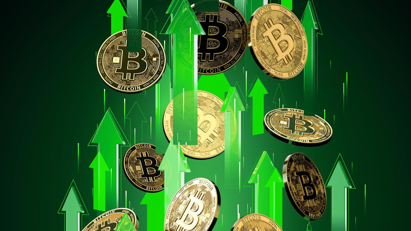 Bitcoin flerta com novo recorde de preço