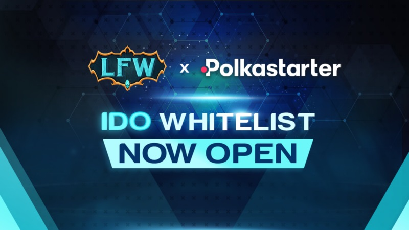 Whitelist của Legend of Fantasy War (LFW) trên Polkastarter đã được mở