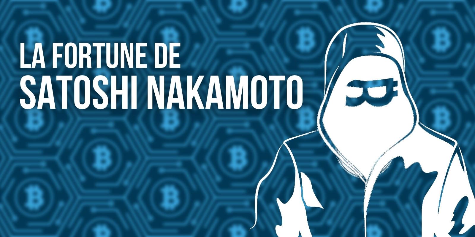 Satoshi Nakamoto est désormais la 20e personne la plus riche au monde