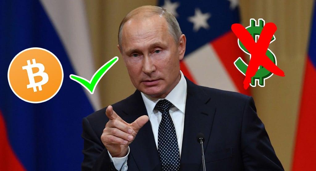 รัสเซียตั้งเป้าแทนที่ทุนสำรองจาก USD ด้วย Cryptocurrency ในระยะยาว