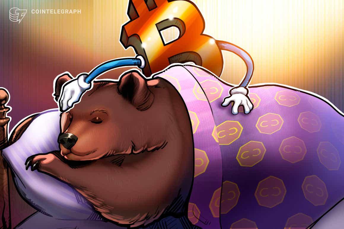 'Todos os ursos vão morrer' - a métrica do Bitcoin se prepara para virar verde pela primeira vez em 6 meses