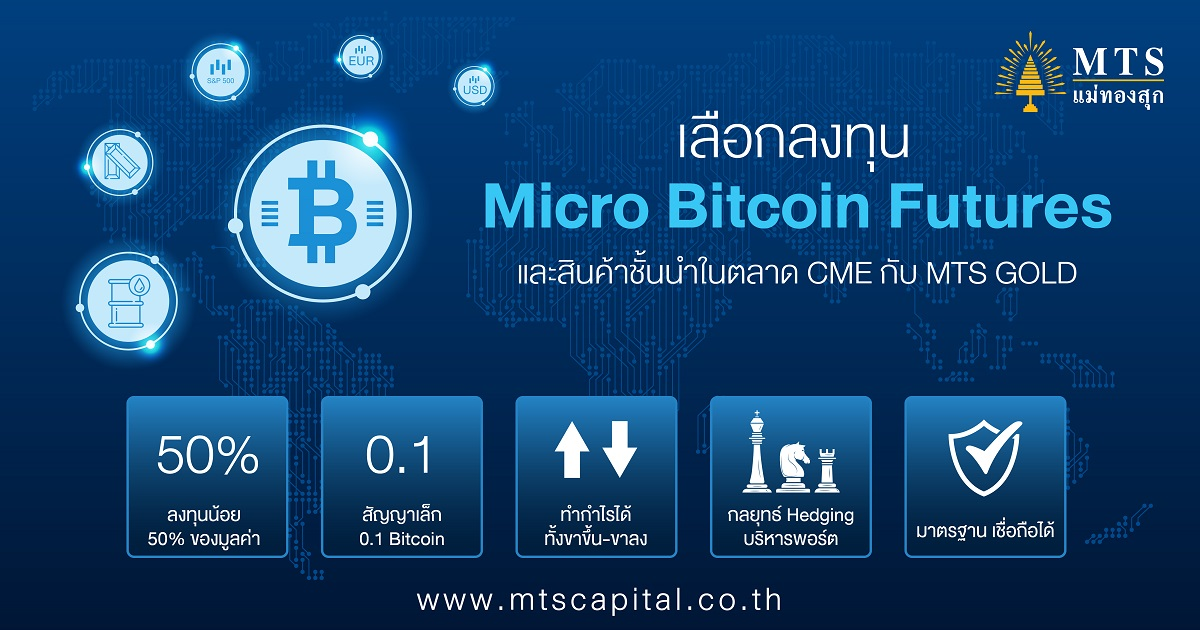 5 ข้อดีเทรด Micro Bitcoin Futures พร้อมสร้างโอกาสทำกำไรขาขึ้นและขาลง