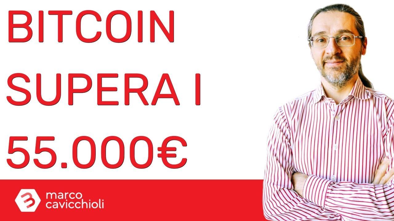 Bitcoin: nuovo massimo di sempre in euro