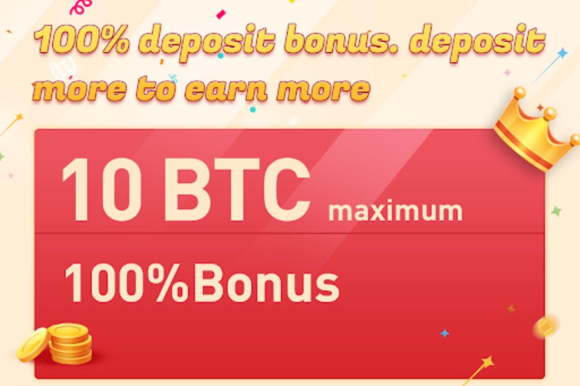 Bexplus lancia un bonus di benvenuto del 100% e una leva 100X sul trading crypto
