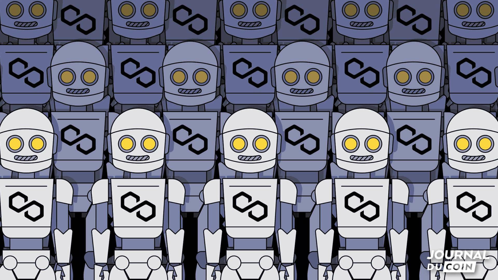Aie Robot – Le réseau Polygon (MATIC) désarmé face à une armée de bots