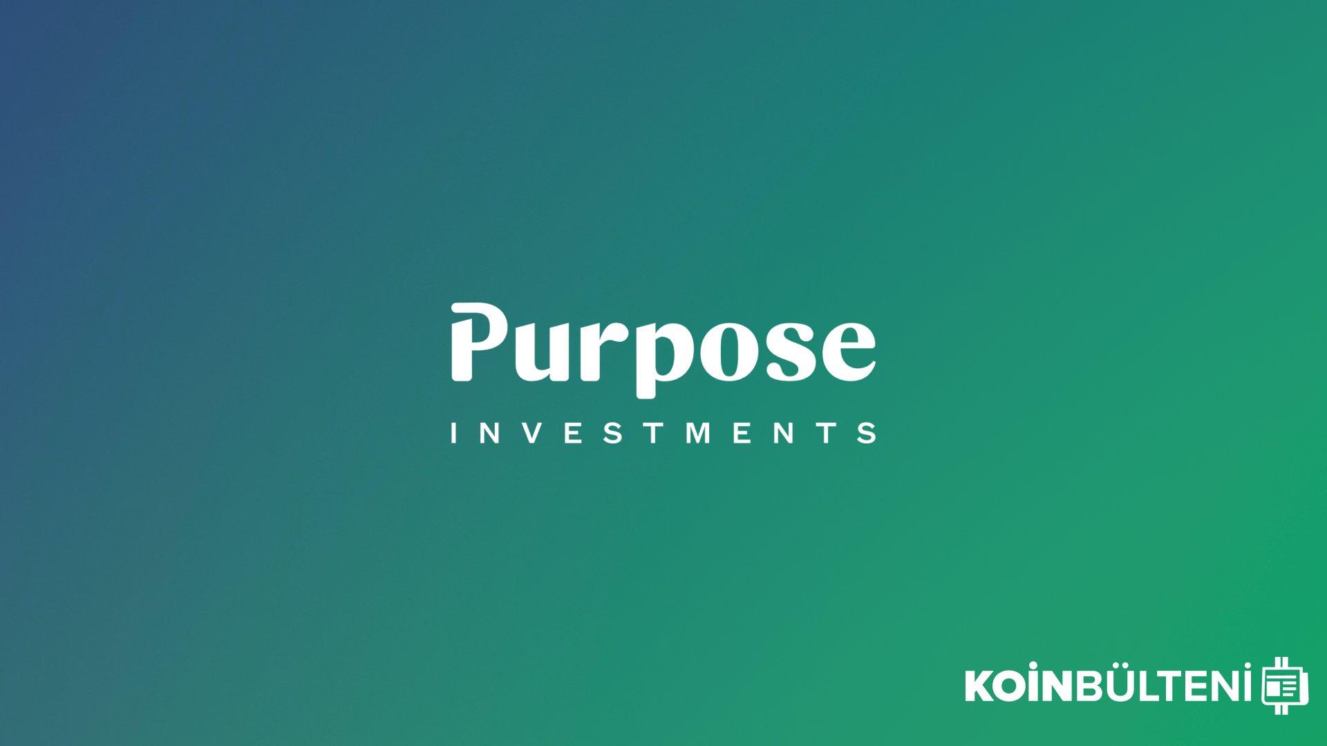 Purpose Investments, Kanada'da Üç Kripto Para ETF'i İçin Daha Başvuruda Bulundu