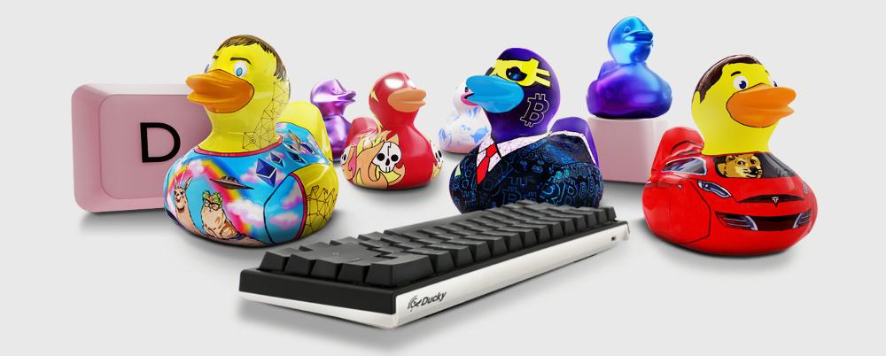 NFT1 cho ra mắt phiên bản NFT 'Lucky Duckies Originals'