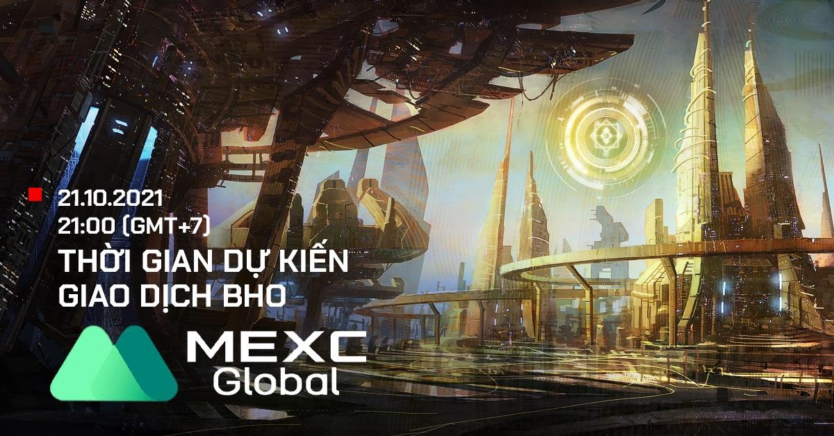 Token Bholdus (BHO) chính thức được niêm yết trên sàn giao dịch MEXC Global