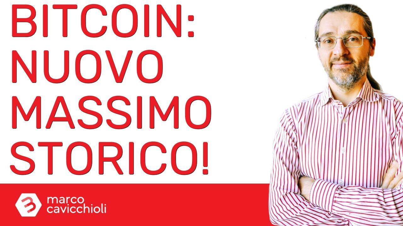 Bitcoin: oggi toccato il nuovo massimo storico assoluto di sempre!