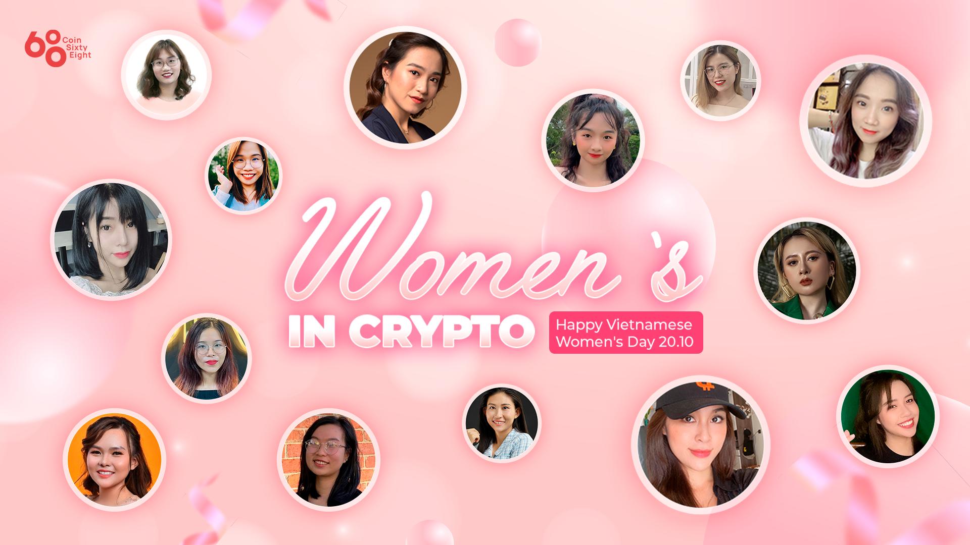 """Women in Crypto –  Những """"bông hồng"""" trong cộng đồng Blockchain và Crypto Việt Nam"""