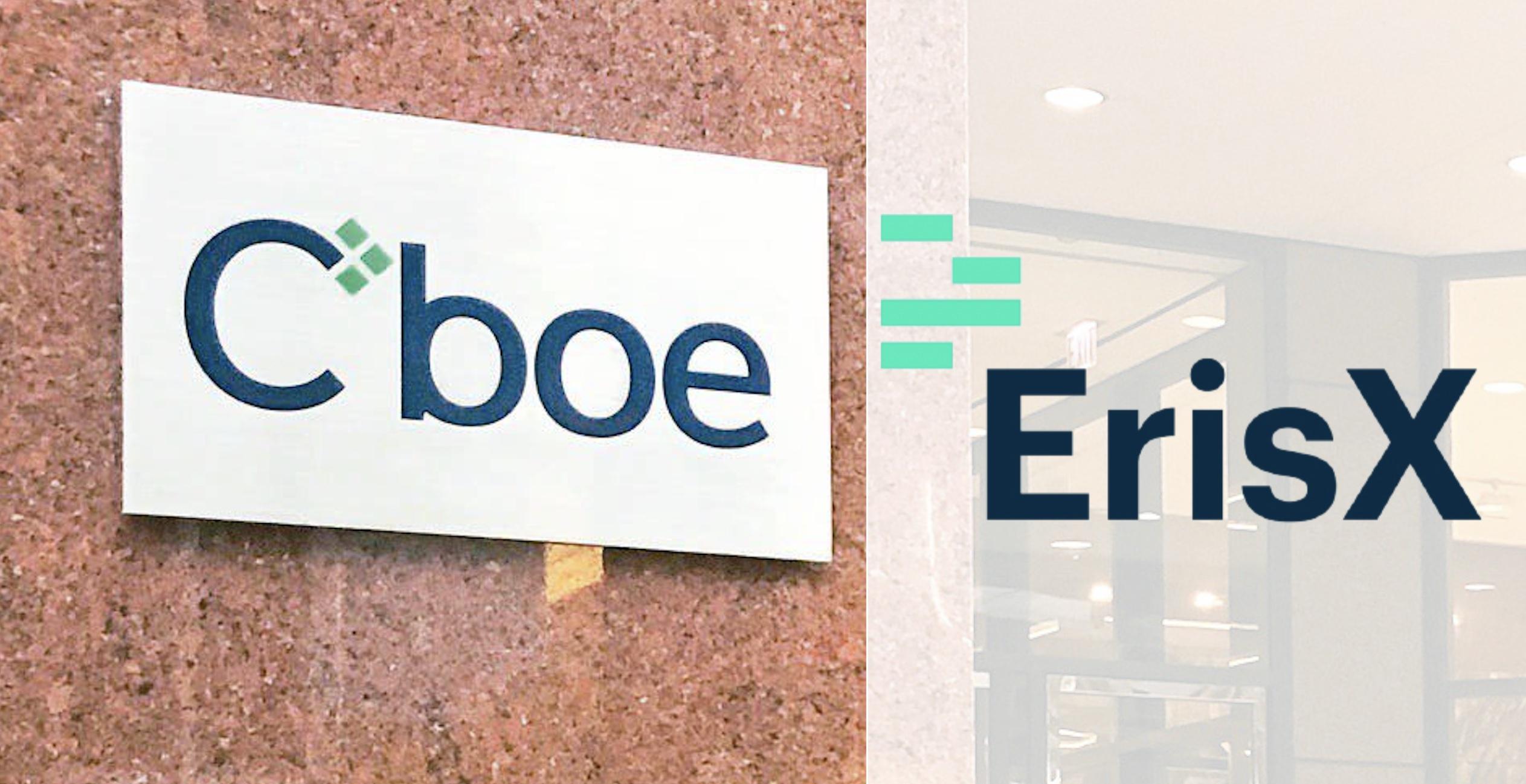 芝期所 (CBOE) 收購衍生品交易所 ErisX,力圖再戰加密貨幣市場!