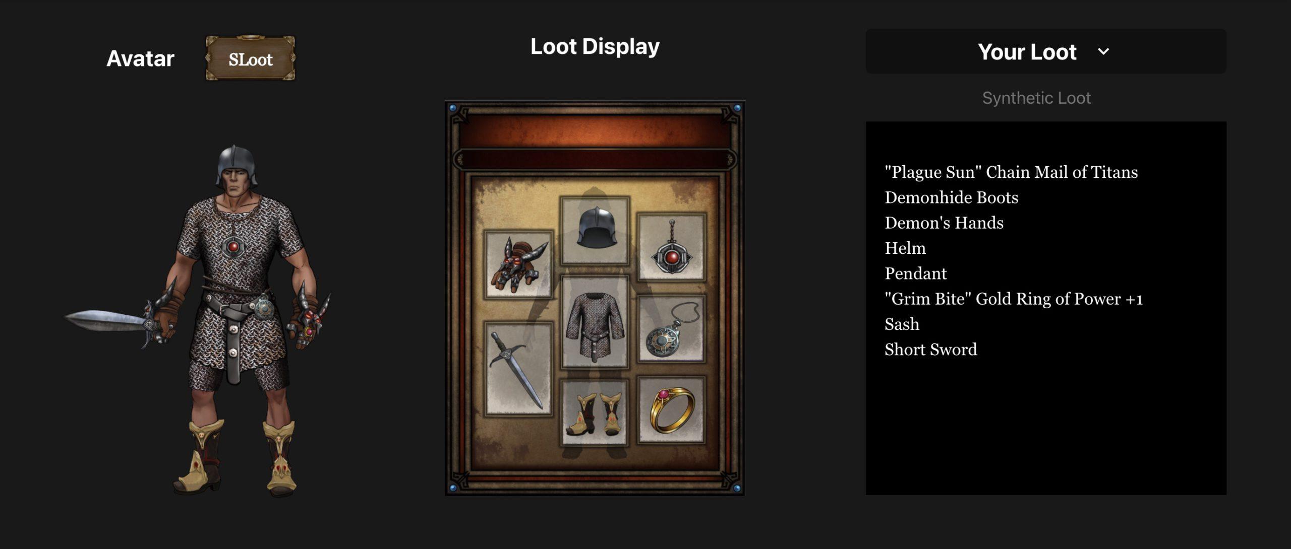 為你的 Loot 創造酷炫角色造型!Amber推出免費視覺化工具「Loot Swag」