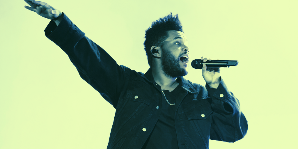 The Weeknd Joins Tom Brady's Autograph as NFT Platform Expands Into Music