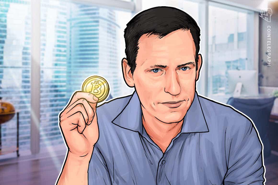 ペイパル共同創業者のピーター・ティール氏、ビットコインに「過少投資」したと語る