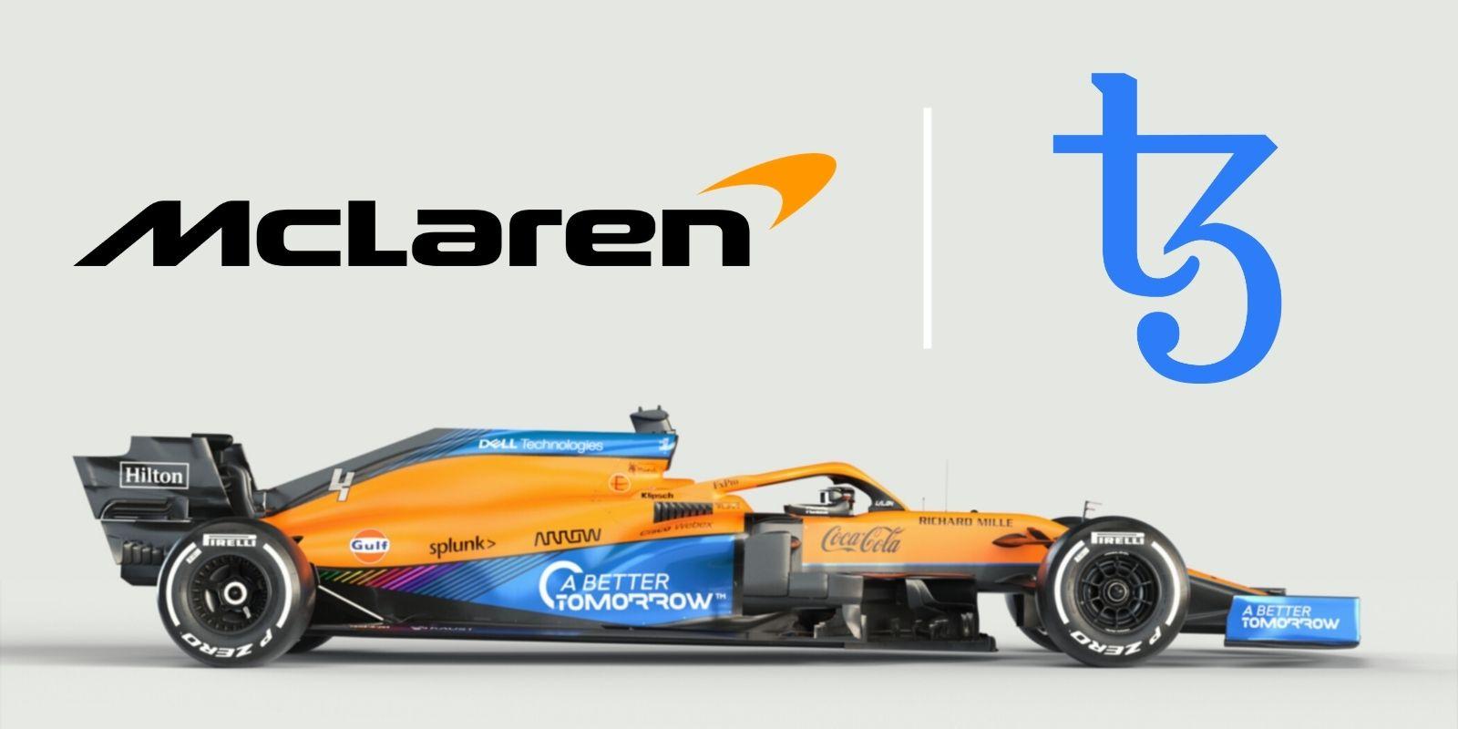 Đội đua F1 McLaren ra mắt bộ sưu tập NFT trên Tezos (XTZ)