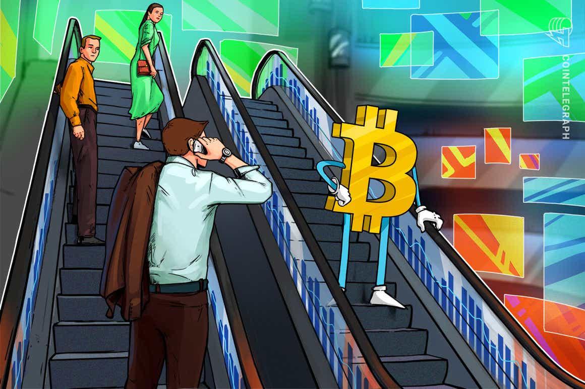 Bitcoin estende a correção conforme Ethereum vê a 'rejeição perfeita' nas máximas históricas
